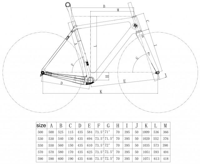 Geometria GRAVELKONWA bike