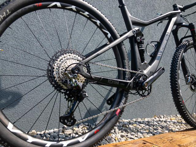 KONWA bike Shimano XTR M9100